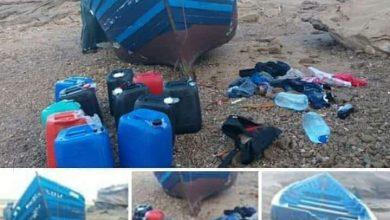 صورة عملية الهجرة السرية التي تم إفشالها الدرك الملكي يوقف المشتبه فيه المسهل للعملية بقارب مسجل بأسفي