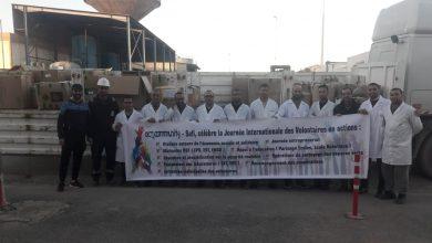صورة بالصور :أوسيبي يحيي اليوم العالمي للمتطوعين من خلال برنامجه Act4Community