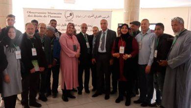 صورة عبداللطيف حجيب رئيسا وطنيا بإجماع مؤثمري المرصد المغربي لحقوق الإنسان