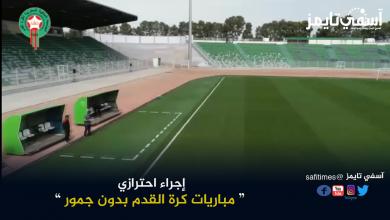 صورة بداية الإجراءات الإحترازية.. مباريات كرة القدم بدون جمهور