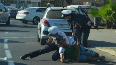 صورة اعتقالات في صفوف أنصار الرجاء بسبب خرقهم لبروتوكول منع التجمهر