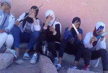 صورة توقيف بطلات فيديو الأسلحة البيضاء أمام ثانوية ضواحي أكادير