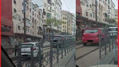 صورة توقيف 28 سيارة ظهرت في شريط تسير في مكان ممنوع